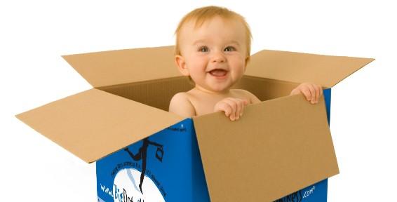 beba u kutiji