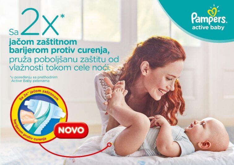 Kako da beba bude suva i zadovoljna